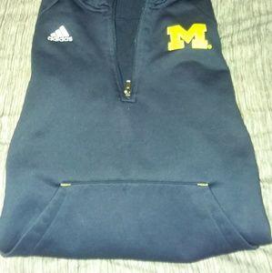 Adidas Michigan Hoodie Youth Size 14/16